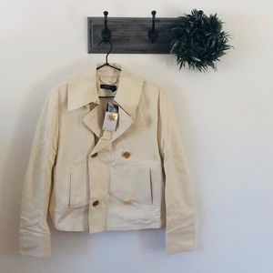 NWT Ralph Lauren Tan Double Breasted Jacket 4